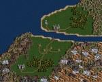 Mapa do przygody opracowana w edytorze map Heroes III